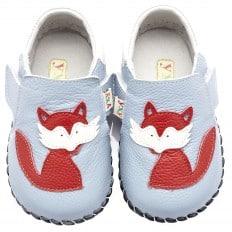 YXY - Zapatos de bebe primeros pasos de cuero niños | Pequeño zorro