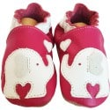 Soft leather baby shoes boys | Elephant