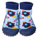 Baby boys Socks shoes with grippy rubber | Small rocket