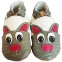 Soft leather baby shoes boys | Rabbit