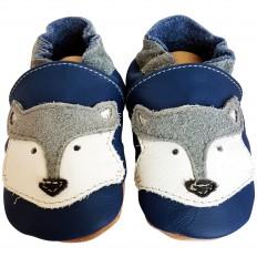 Scarpine Morbida Cuoio Bambini - ragazzo | Blue fox
