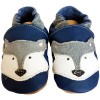 Soft leather baby shoes boys | Blue Fox