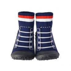 08c57ba56a78 Chausson-chaussettes et chaussettes trampoline anti glissade qui ne ...