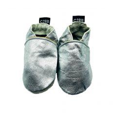 afd917df2fffc Chaussons en cuir souple bébé - C2BB - chaussons