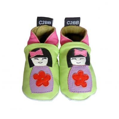 Soft leather baby shoes girls | Small Chinese