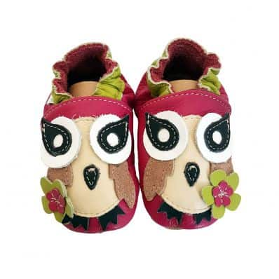 Soft leather baby shoes boys | Pink Owl