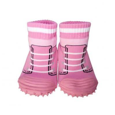 Chaussons-chaussettes antidérapants BASKETS C2BB - chaussons, chaussures, chaussettes pour bébé
