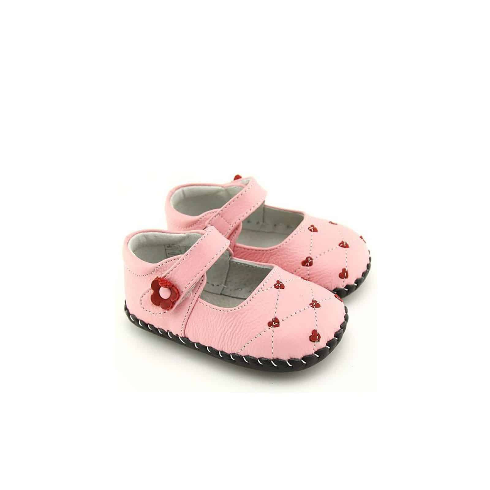 cb4097aeee88 FREYCOO - Baby girls first steps soft leather shoes