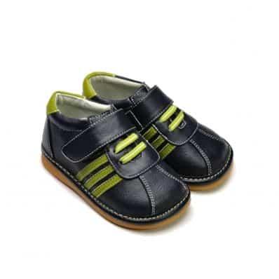 Chaussures semelle souple Basket à lacets