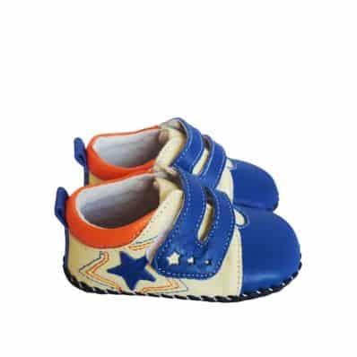 Chaussures premiers pas cuir souple baskets ETOILE