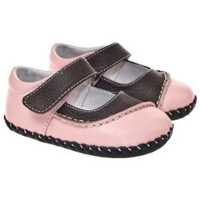 http://cdn2.chausson-de-bebe.com/872-thickbox_default/little-blue-lamb-baby-girls-first-steps-soft-leather-shoes-pink-and-brown-bicolor.jpg