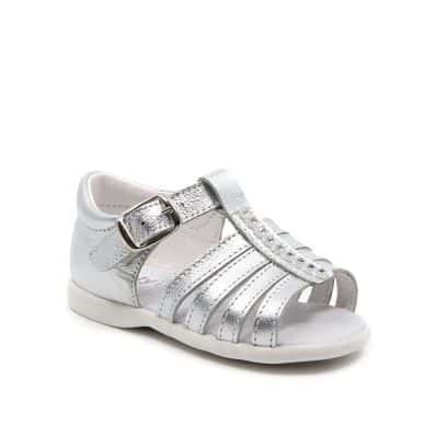 sandales semelles souples ouvertes METAL C2BB - chaussons, chaussures, chaussettes pour bébé
