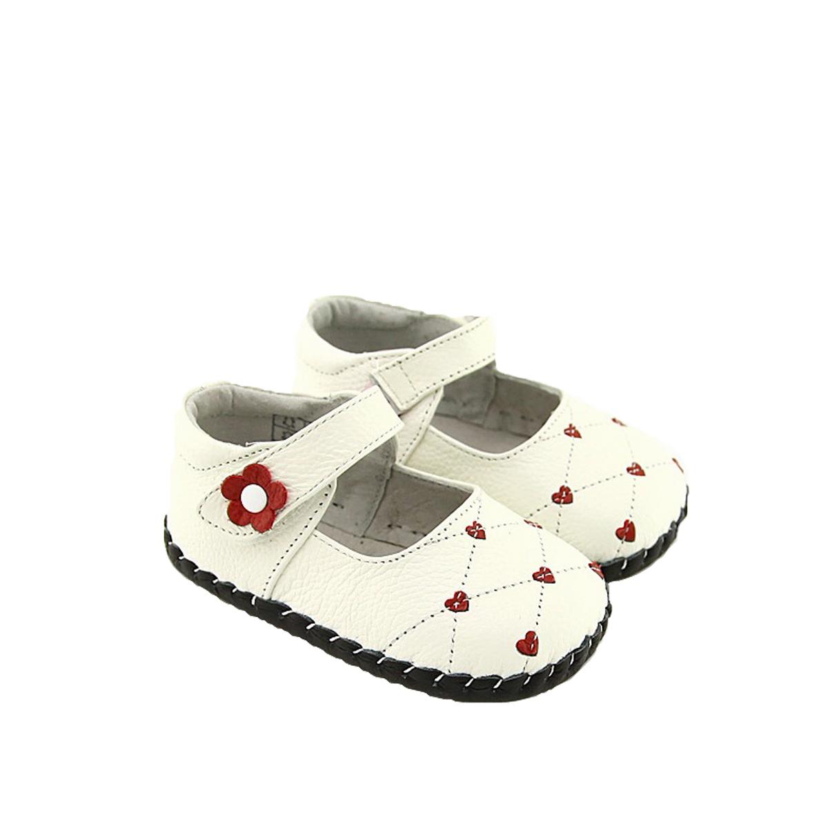 Pas Cuir Premiers Coeur Cdxobe Souple Chaussures À Wiyh29ed Babies OPXk08nw