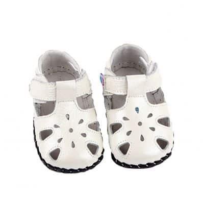 Chaussures premiers pas cuir souple Sandales Cérémonie