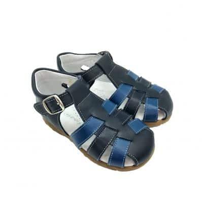 Chaussures semelle souple sandales fermées NAVY