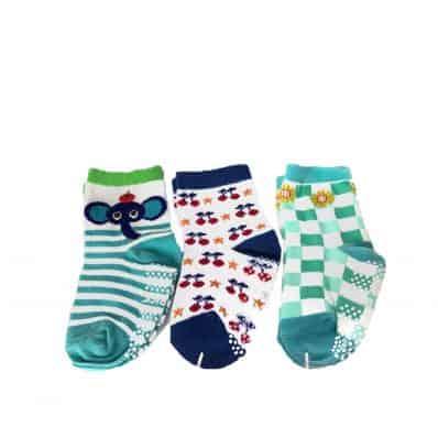 3 Paare antirutsch Babysöckchen Baby Kind im Alter von 1 bis 3 Jahre | Mädchen 19