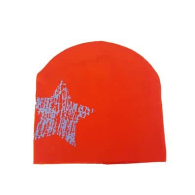 C2BB - Baby hat - one size | Red blue star
