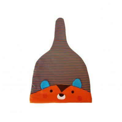 C2BB - Bambino cappello procione - singolo taglia | Arancione
