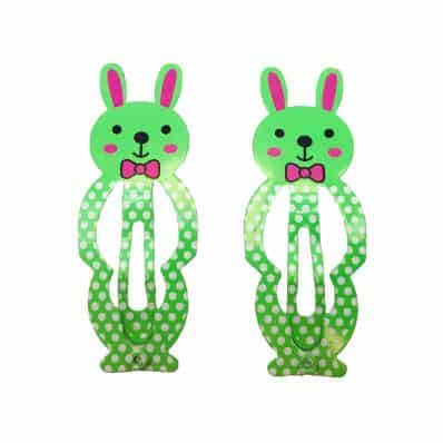 Lot de barrettes Lapin