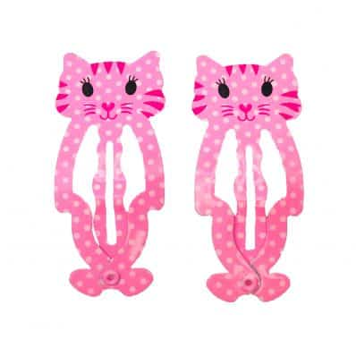 Lot de barrettes CHATON GIRLY