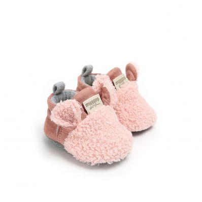 Chaussons bébé Madame Mouton C2BB - chaussons, chaussures, chaussettes pour bébé