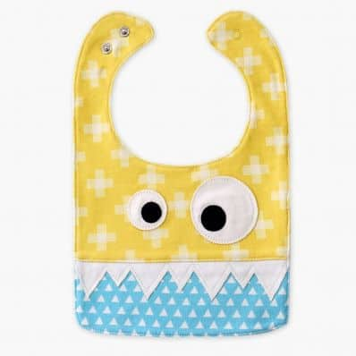 Baby boy Embroidered bibs | Cow