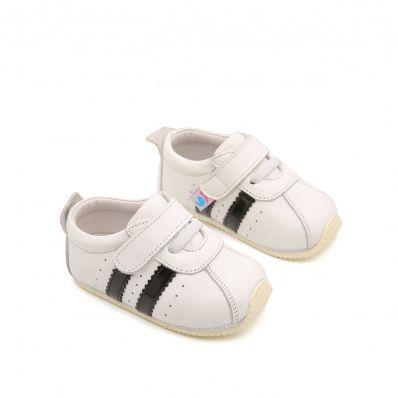 Chaussures premiers pas cuir souple baskets Cérémonie