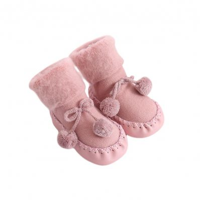 Chaussons-chaussettes douceur Girly C2BB - chaussons, chaussures, chaussettes pour bébé
