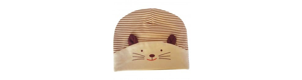 Bonnets bébé - Petit chat