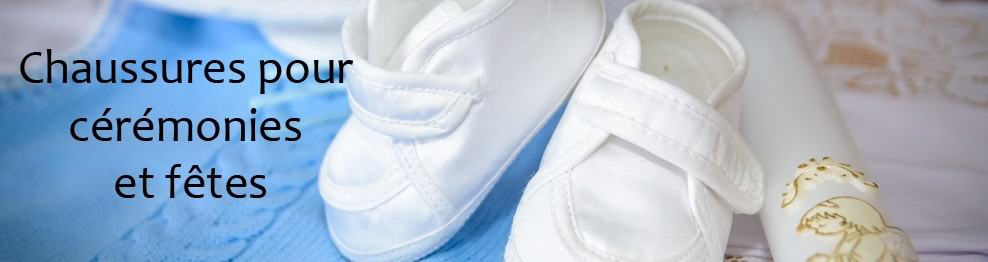 Chaussures bébé/enfant pour cérémonies et fêtes